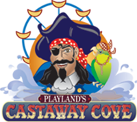 Playland's Castaway Cove logo